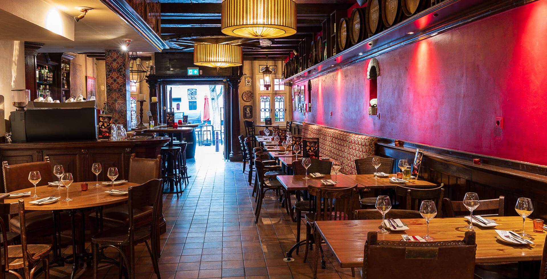Torres Tapas Restaurant Menu